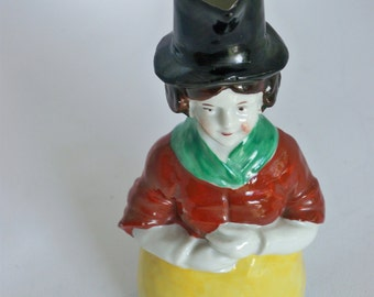 Vintage Welsh Lady Jug