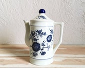 Vintage German Painted Teapot