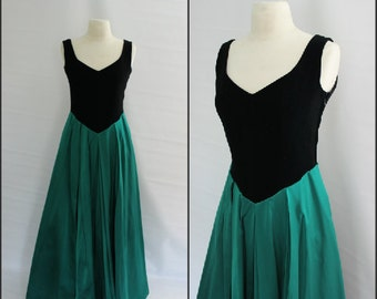 Vintage, Laura Ashley, Formal Ball Gown