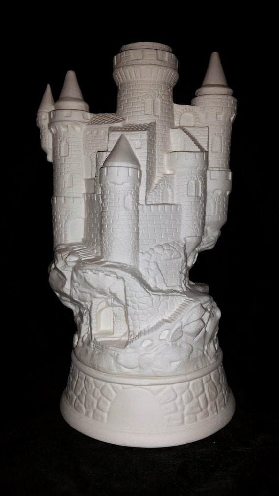 Ready To Paint Medieval Castle Smoker Incense Burner