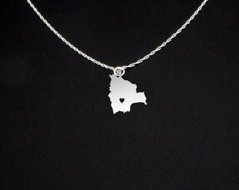 Bolivia Necklace - Bolivia Gift - Bolivia Jewelry