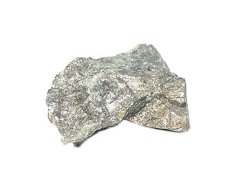 Rare Breithauptite and Nickeline Geology Thumbnail Specimen Nickel Metallic Ore for the rock and mineral cabinet of the expert collector