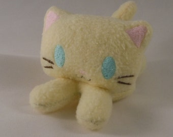 Adopt Isabelle, the Glowie Eye'd Kitty Plush