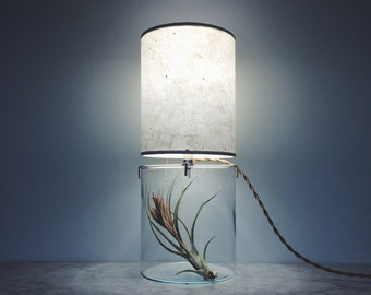 Tall Round Vessel Lamp