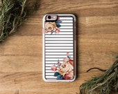 iPhone 6 Case   iPhone 6 Silicone, iPhone 6 Floral Case, iPhone 6 Flower Case, Fashion iPhone 6 Case, iPhone 6 Case Stripes, iPhone 6S, SE
