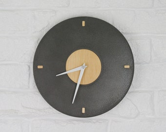 SALE! Concrete Clock / Circular Concrete Clock / Square Concrete Clock