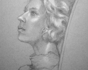 Portrait of Young Woman, Mirelle