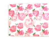 Changing Pad Cover Pink Peonies. Change Pad. Changing Pad. Minky Changing Pad Cover. Floral Changing Pad Cover. Changing Pad Girl.