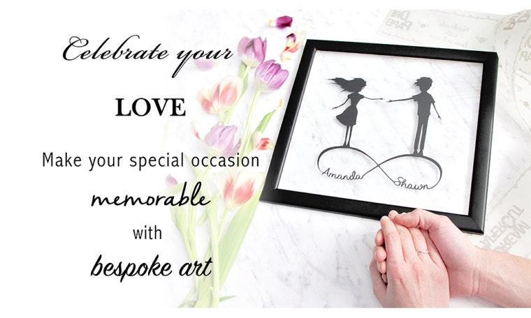 Wedding Anniversary Gift For Daughter : Wedding Gift Anniversary Gift for Daughter by DreamPapercut