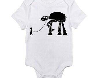 My Star Wars AT-AT Pet Baby Onesie / Star Wars Baby Onesie / Star Wars Baby Shower Gift / Star Wars AT-aT Pet Romper / Star Wars Nurcery