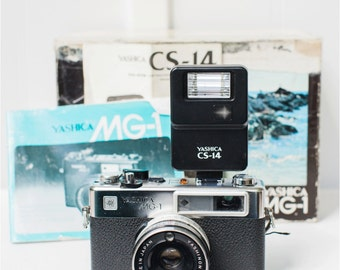 Yashica MG-1 with 45mm Vintage Camera