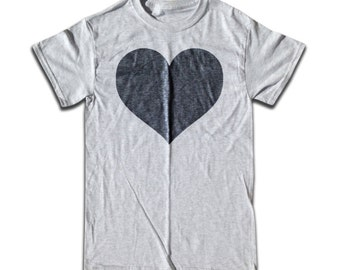 Black Heart T Shirt - Graphic Tees for Men, Women & Children