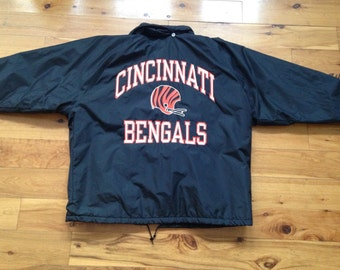 Bengals football etsy for Vintage bengals t shirts