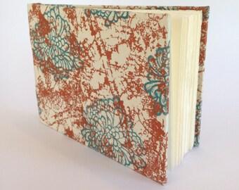 Handmade, Medium, Screen Printed, Hard Cover Journal, Diary, Notebook, Sketchbook