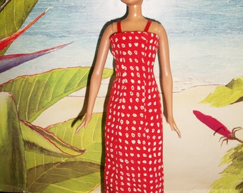 Barbie Hawaiian Sundress and Accessories