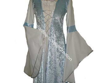 "Medieval dress ""Starry night"" custom"