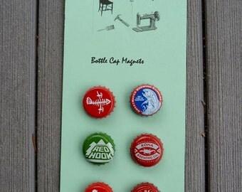 Magnet Bottle Caps Set  Fishing Camping Outdoors  Bar Refrigerator