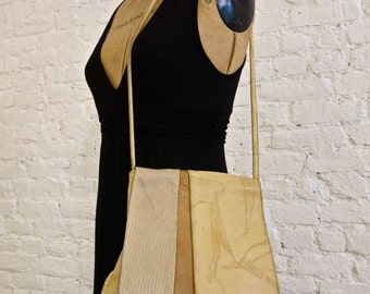 80s Susan Riedweg Leather Shoulder Bag - Iconic Designer - Artisan Details