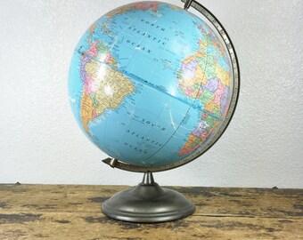 Vintage Cram Imperial Globe / 12 Inches Diameter