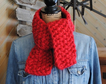 Little Big Scarf in Red