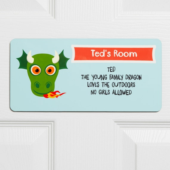 Personalised Children 39 S Door Sign Bedroom Door Sign