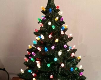 Old Time Ceramic Christmas Tree
