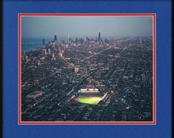 Wrigley Field Picture - Chicago At Night