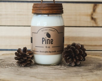 16 oz Premium Soy Candle | Rust Lid & Matchbook