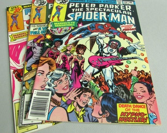 Peter Parker The Spectacular Spider-Man No. 24, No. 25, or No. 26, November, December 1978, or January 1979, Marvel Comics