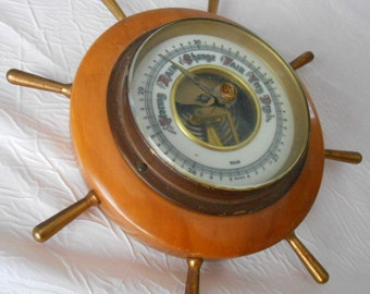 Shipwheel Selsi Barometer Accurate Weather Forecasting