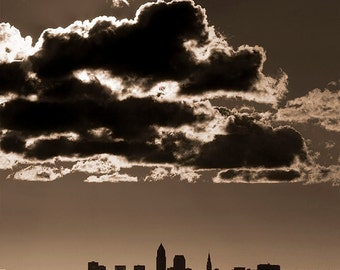 Clouds Over Cleveland - Photography Print