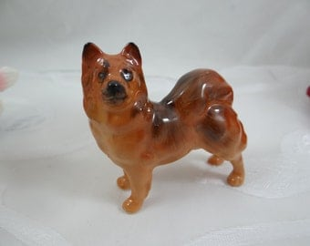 Vintage Hand Painted Royal Doulton K15 Chow Figurine - Dog Figurine - Animal Series