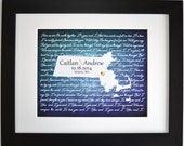 Wedding gift last name established, personalized wedding gift family established sign mr and mrs wedding gift couples gift ideas state map