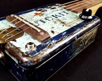 Auto Kit 4string Cigar Box Guitar