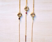 Wonderful Works Lariat - Hex Nut Necklace - Layering Necklace