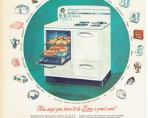 1947 Westinghouse Oven and Stove Advertisement