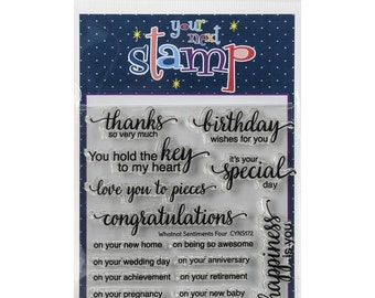 Your Next Stamp Whatnot Sentiments Four