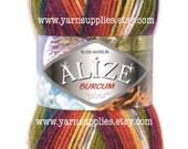 Sock Yarn // Acrylic Yarn // Knitting Yarn // Craft Supply // Scarf Yarn // Winter Yarn // Blanket Yarn // Shawl Yarn // Alize Burcum Cizgi