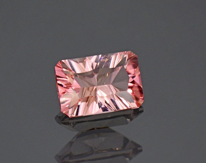 Stunning Concave Cut Pink Tourmaline Gemstone from Afghanistan 1.75 cts