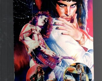 Queen's Greatest Hits Rock And Roll Comic Book