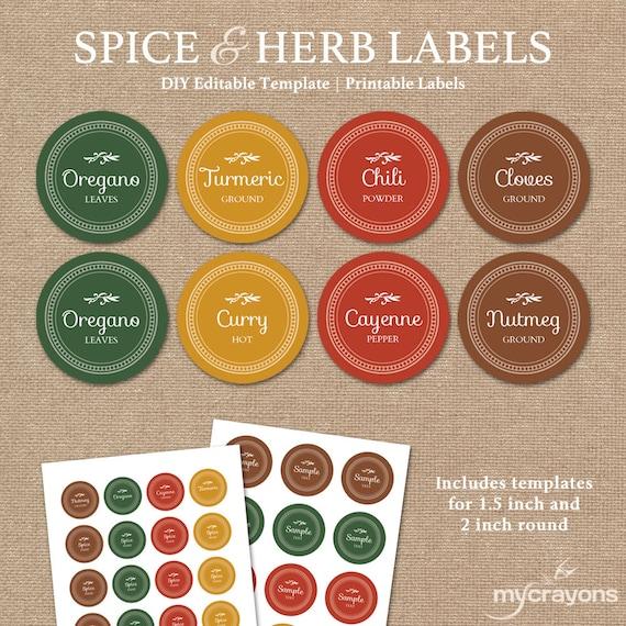 Modest image for printable jar labels