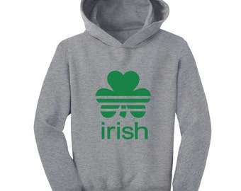 Sports Shamrock - St. Patrick's Day - Toddler Hoodie