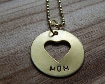 Heart Necklace, mom, love