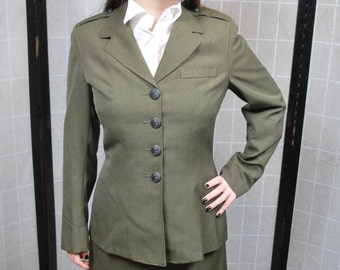 Ladies Marine Corps Uniform, Steampunk / Dieselpunk Style