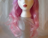 Lavender to Pink Ombre Cosplay Wig