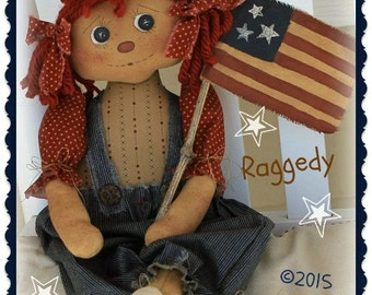 Primitive Americana Raggedy ePattern