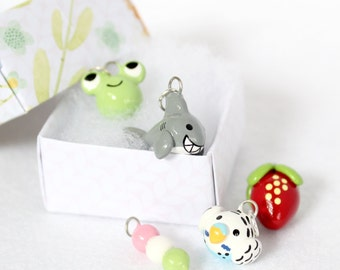 Mariposa Mystery Charm Box! - Polymer Clay Charms - Mystery Box - Charm Grab Bag - Lucky Pack - Cell Phone Charms - Cute Charms