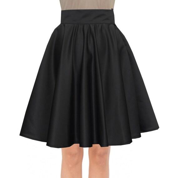 items similar to black formal skirt prom duchess knee