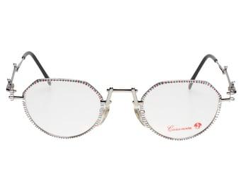 Casanova C-02 hand made in Italy avant garde - steampunk pantos sunglasses - eyeglasses frames, NOS 1980s