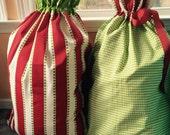 Christmas Stripe Santa Sack
